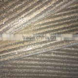 Wedding backdrops glitter paper also can use for handbag, shoes and decoration, wallpaper                                                                         Quality Choice