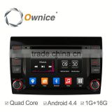 Ownice car multimedia player for Fiat Bravo 2007-2014 with mp3 player gps audio rds bluetooth multimedia car radio DAB