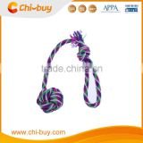 Chi-buy Best Purple Cotton Monkeys Fist Knot Rope Dog Toys Free Shipping on order 49usd