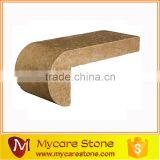 turkey beige travertine coping tile for swimming pool
