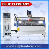 ELE 1650 China ATC automatic cnc wood cutting machine for soft metal, wood furniture, cabinet, chair, door