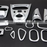 Automotive Decorative ABS Chrome Matte Interior Trim 14 Pcs For Smart Fortwo 2015 Accessories