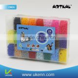 artkal fuse hama beads diy educational toys 24 colors 19300 beads/box accessories for children
