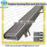 high quality chain link conveyor flat transmission belt or conveyer belt with wire mesh belt