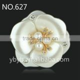 resin flower artificial plastic flower pearl embellished jewelry accessories girl dress patterns in bulk-627