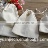 Yuanjie custom small cotton bag with drawstring,wholesale string cotton pouchs bags and cotton picking bags