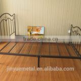 queen size bed black metal bed