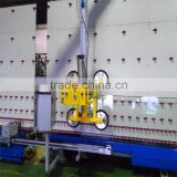 Vacuum lifter for glass processing line