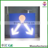 Professional Roadway Safety Manufacturer for solar traffic sign of road branch