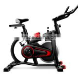 2016 new cheap spin bike type pass CE flywheel electric exercise bike with LCD displayer