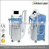 Radio frequency multifunction beauty personal care machine with q switched nd yag laser technology