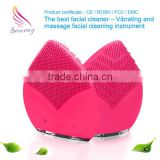 Alibaba seller black head removal instrument silicone facial cleansing brush face mask massager