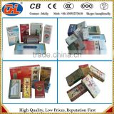 Automatic Cellophane Packing Machine | Cigarette box wrapping machine | Perfume box film wrapper