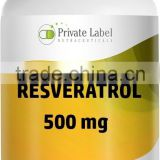 Best Quality Private Label Resveratrol Supplement - Antioxidants Softgel