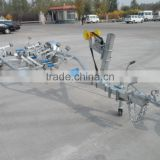 Heavy duty dual or single axel galvanized boat trailer dolly