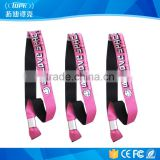 Customized Printing Coloful RFID VIP Wristbands with 35*26mm Size
