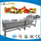 Automatic electric vegetable and fruit washing cleaning machine,industrial fruit washing machine