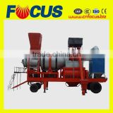 QLB40 40tph small mobile asphalt mixing plant with twin shaft mixer