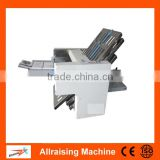 High Speed 6 Plated A3 Paper Folding Machine Office Desktop A3 Folding Machine / Paper Folder For Sale