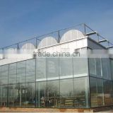 Hydroponics Greenhouse Multi Span Poly Film/PC Sheet greenhouse commercial greenhouse for agriculture