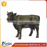 Life size bronze sculpture cow for sale NTBC-001LI