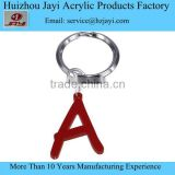Custom high quality acrylic wedding letter keychain