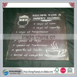 Wooden blackboard Bar plaque sign factory supply