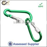 Anodized Aluminum Climbing Carabiner for Outdoor Sports