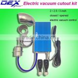 2 /2.5 / 3inch auto exhaust part electronic valve vacuum control cutout kit