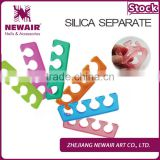 Gel toe nail separator of professional production