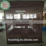 Heater door window blinds/printed bamboo curtains blinds