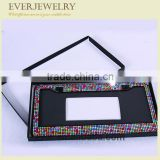 Wholesale high quality pure color crystal rhinestones plate frame
