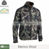 Merino wool camo snow outdoor hunting camo winter jacket,waterproof jacket hunting camo