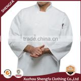 cotton and polyester material Chef uniform