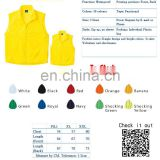 Hot sales Custom Logo print Jacket windbreaker printing vest with different color with hood