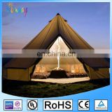 Large Waterproof Canvas Camping 5m 6m 4m Bell Tents