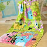 High quality colorful children 100% terry cotton bath towel for kids