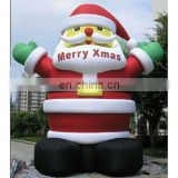 outdoor Christmas decoration giant inflatable santa claus