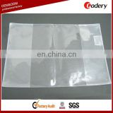 China supplier clear plastic book cover
