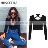 fashion sexy hot sale sexy tube top new halter women sexi lady blouse & top