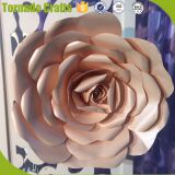 2017 Wholesale DIY 3D Handmade colorful Card Paper Flowers For Decoration