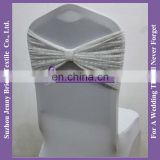 SH059B cheap lace chair covers chair sashes