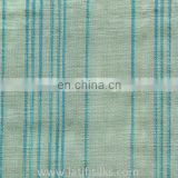 SILK FABRIC BLUE AND CREAM