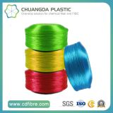 840d Polypropylene Colorful High Tenacity Yarns Used for PP Webbing