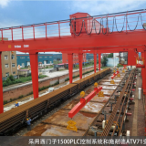 RMG Cranes for Rail Track Handling