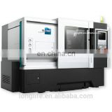 DL20MH series 3 axis cnc turning center/slant bed cnc lathe with c axis
