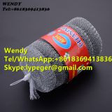 0.2mm diameter wire galvanized steel mesh scrubber