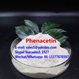Pharmaceutical Material raw powder Phenacetin Manufacturer CAS: 62-44-2 safe delivery to UK