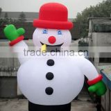 Customize outside decoration inflatable snowman advertising sale giant huge inflatable christmas snowman