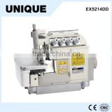 EX5214DD direct drive high speed 4 thread overlock industrial sewing machine price Japanese sewing machine                                                                         Quality Choice
